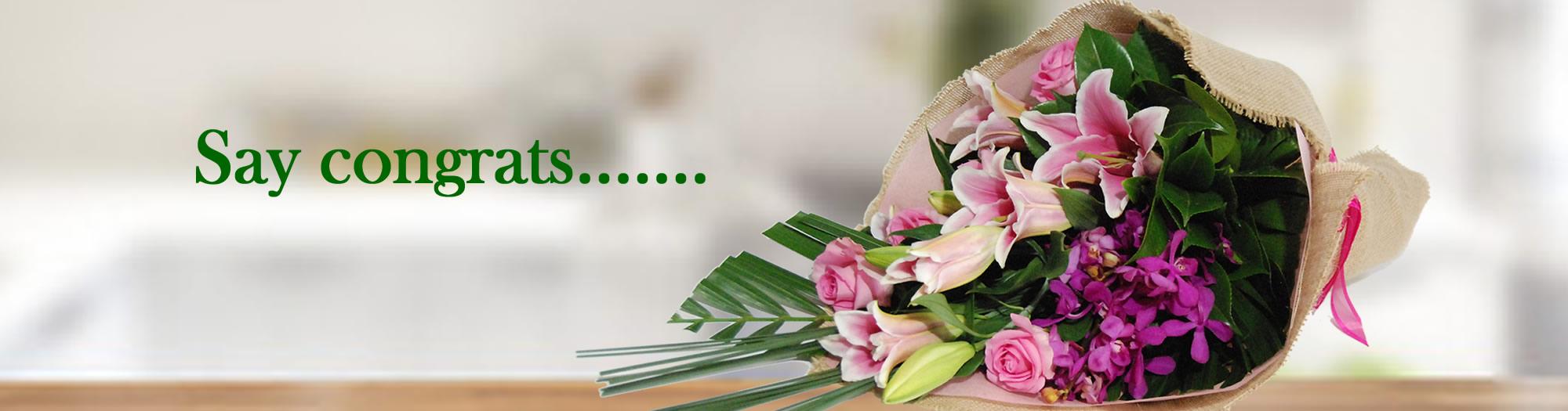 Angkor flowers- congratulation