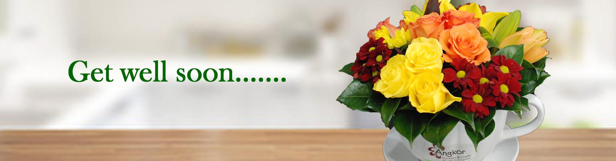 Angkor flowers- get well soon2