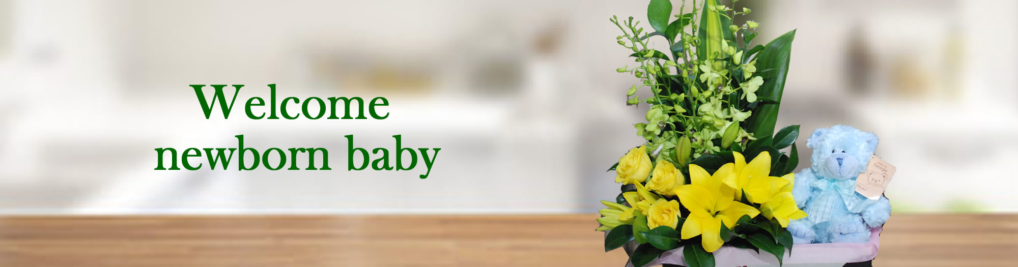 Angkor flowers- welcome new baby
