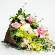 Artificial Flowers – Cone Basket Arrangement for home decor or gifting2