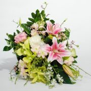 Artificial Flowers – Cone Basket Arrangement for home decor or gifting3