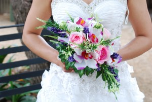 Artificial-Pink_purple Bouquet