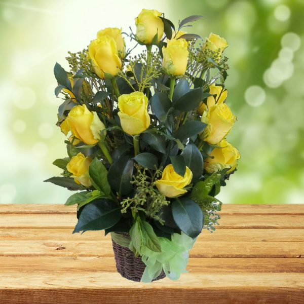 Brighten – Yellow Arrangement