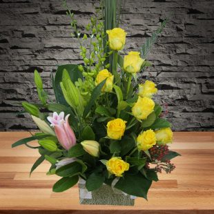 Charming - Yellow Arrangement