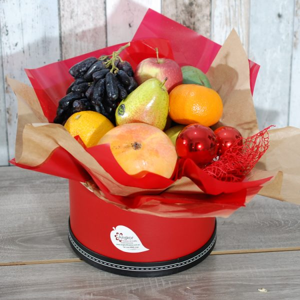 Fancy Fruits Hatbox