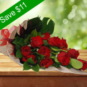 Adorable Bouquet- 12 Premium Red Roses