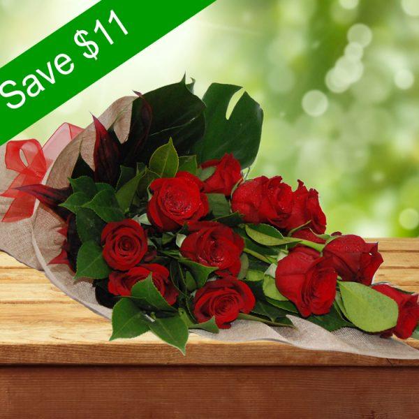 Adorable Bouquet- 12 Premium Red Roses