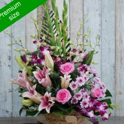 Exotic Basket Arrangement – Premium Size
