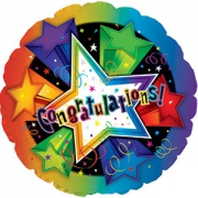 Congratulation foil balloon – 17″