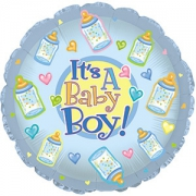 Baby boy foil balloon – 17″
