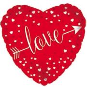"""Valentine Foil Balloon – 17"""""""
