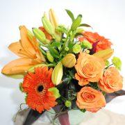 Glorious- Orange Vase Arrangement1