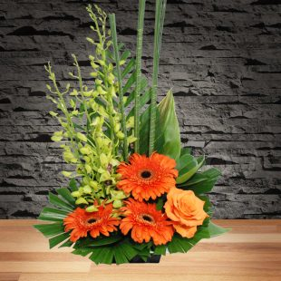 Gratitude- Orange Arrangement-Main