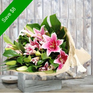 Lily Pink Bouquet-Main1
