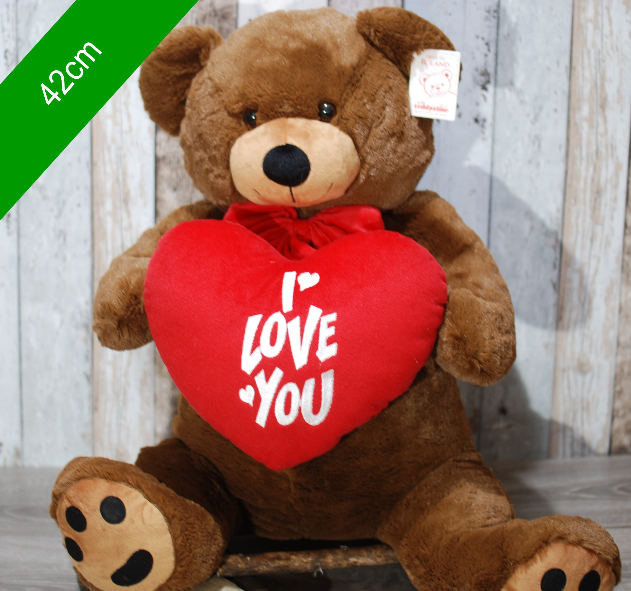 Love teddy bear extra large – 42cm
