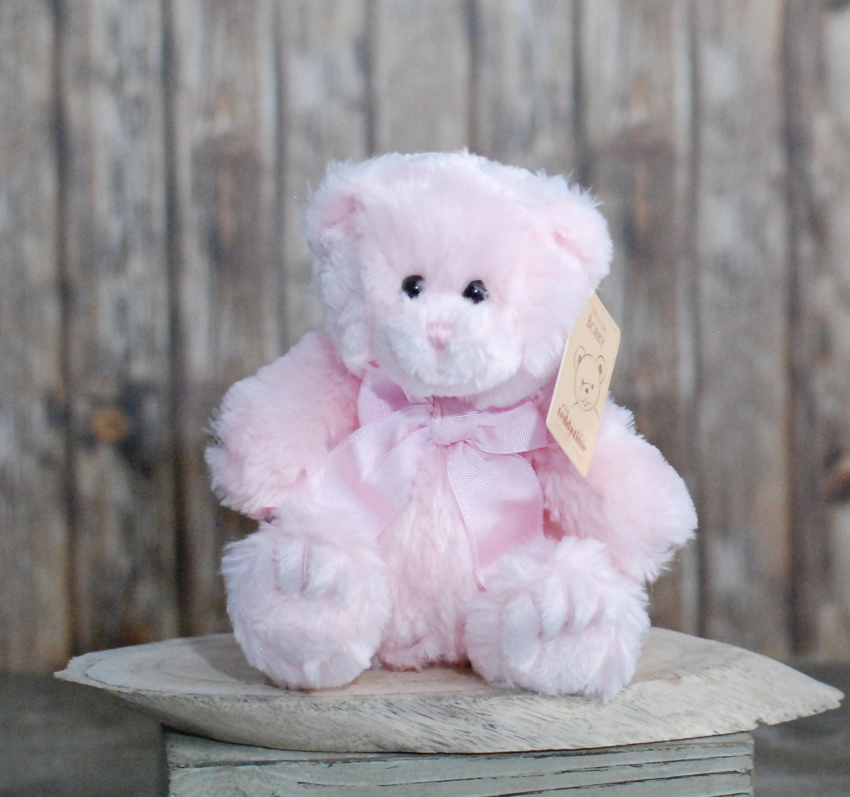 Pink teddy bear medium – 25cm