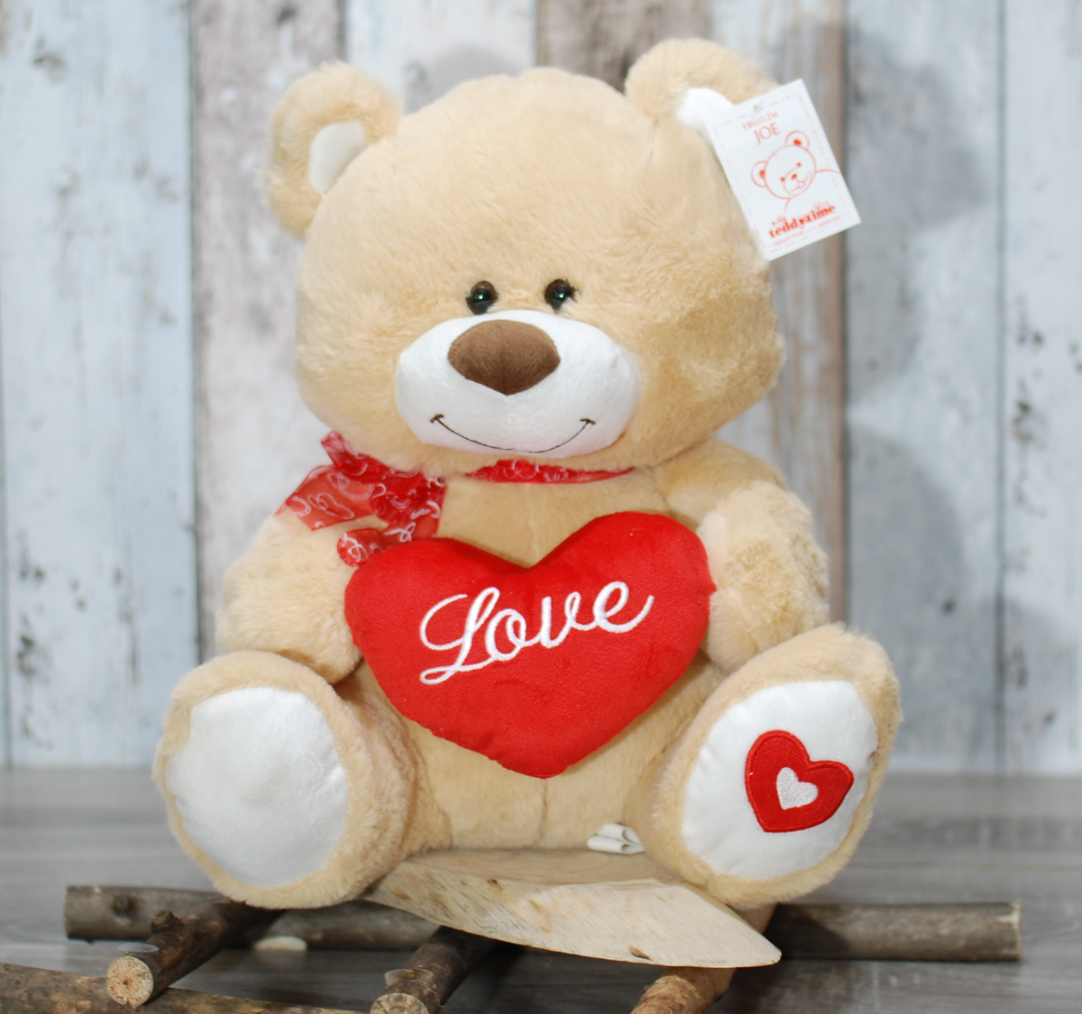 Love teddy bear large – 36cm