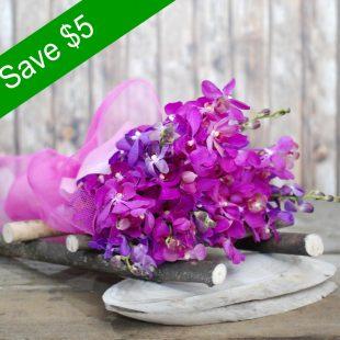 Violet - Orchid Bouquet