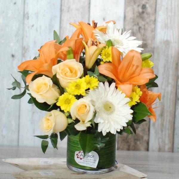 Be Sparkle- Peach, orange and white palette