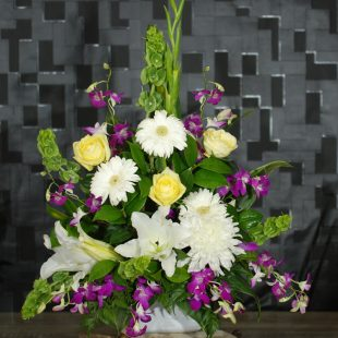 Sympathy Flowers- Caring Sympathy- Colours to Express Care - Angkorflowers