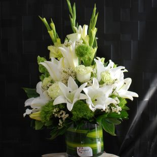 Sympathy Flowers- Classic White