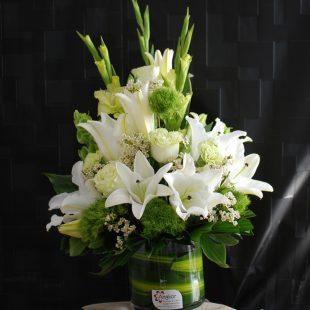 Sympathy Flowers- Classic White