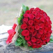 Spectacular 50 Red Rose Bouquet1