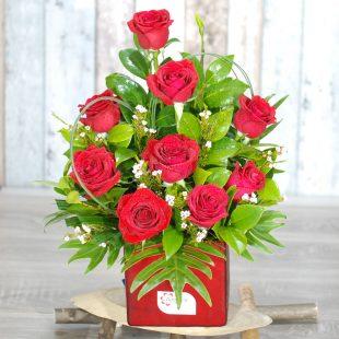 Valentine Flowers - Forever - sweetheart roses
