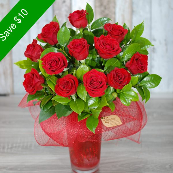 Valentine Flowers – Awesome Red Roses