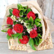 Valentine flowers – surprise bouquets – 7 stems
