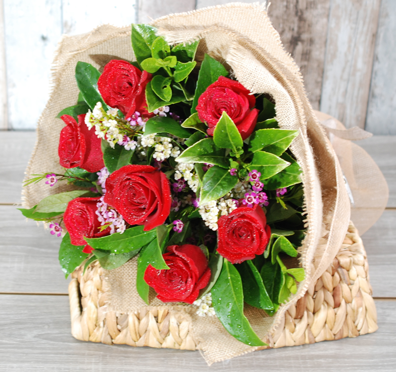Valentines Day Surprise Bouquet -VB07 - Angkor Flowers