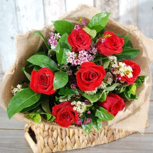 Valentine flowers - surprise bouquets - 7 stems3