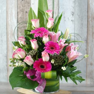 Beautiful and Charming- Pink Arrangement
