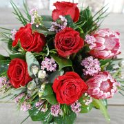 Festive Red Arrangement-2