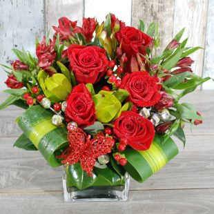 Joyful Red Arrangement