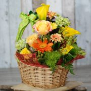 Christmas Hampers-  Glorious Christmas- Flowers and Fruits and Chocolate 3