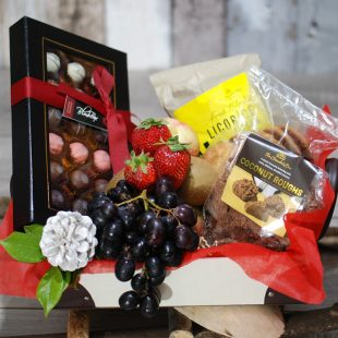 Gift Hamper- Gorgeous Gift- Fruit, Sweety and Chocolate