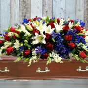 Praying Casket Flowers2