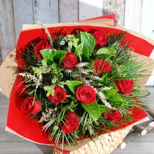Romantic Red Bunch1
