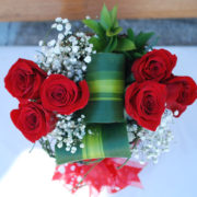 Elegant Red Box -6 Premium Roses2