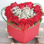Love Heart -12 Premium Roses-2
