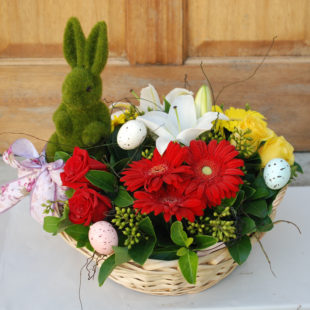Bright and Colourful Easter Basket