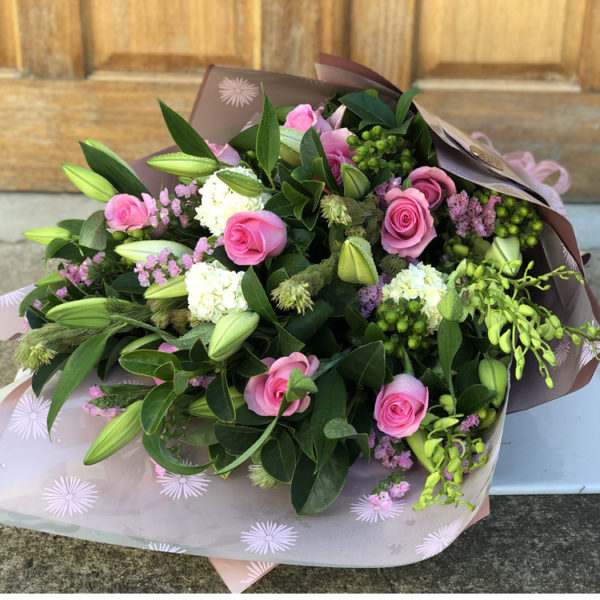 Massive Pink and White bouquet